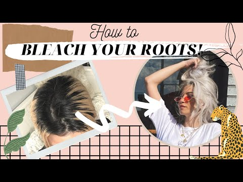 How I Touch Up My Roots At Home | 집에서 뿌리 탈색/염색 하는 법
