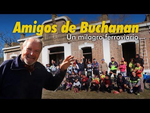 Emotiva movida solidaria para recuperar la estación Buchanan