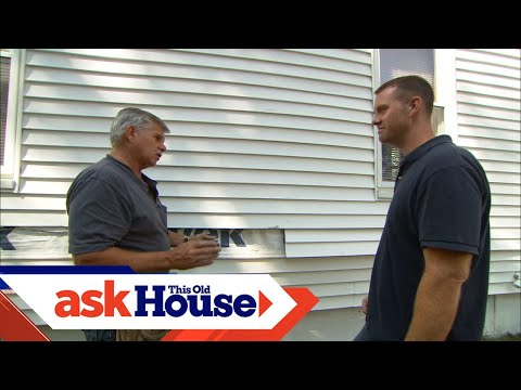 How to Replace Damaged Vinyl Siding