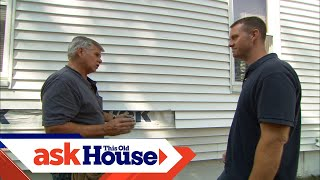 How To Replace Damaged Vinyl Siding | Ask This Old House