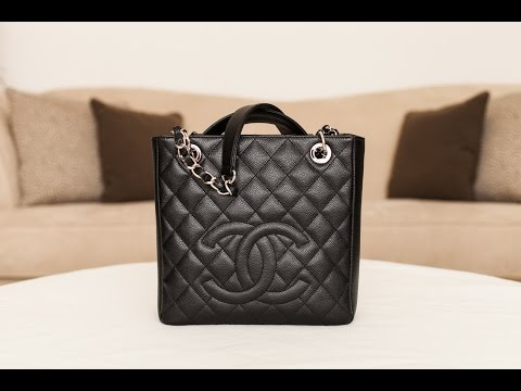 Chanel Petite Shopping Tote Review