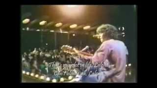 Donovan Lalena (with lyrics)