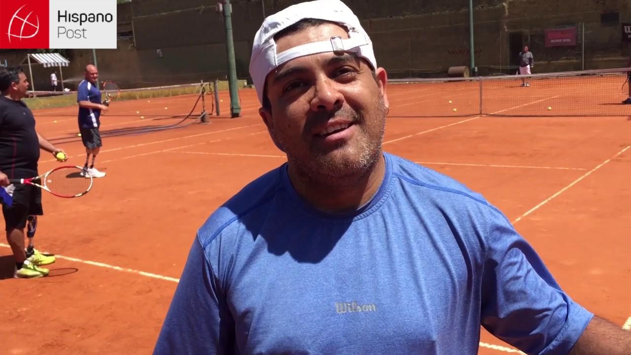Tenis adaptado de pie en Argentina