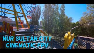 Creativity is Boundless in Nur Sultan City ,,,,, Cinematic FPV