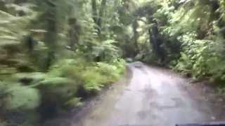 preview picture of video 'Driving to DOC camping site near Hokitika'