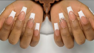 FRENCH SMILE LINE   NAIL TUTORIAL