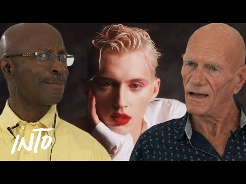Old Gays React to Troye Sivan Videos