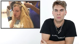 Hairdresser Reacts To Americas Next Top Model Makeovers S.3&4
