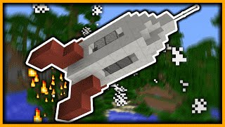 How To Make A Rocket Ship In Minecraft Xbox One Free Online Videos