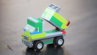 How to Build Lego Truck - Dump Truck - DIY step by step
