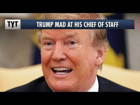 Trump FURIOUS with Chief of Staff For Revealing His Weakness