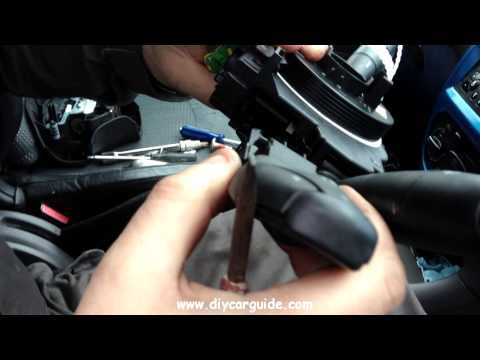 Peugot 206 Lights/Wiper Switchgear Replacement
