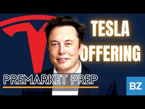 $TSLA announces a $5 billion offering | PreMarket Prep