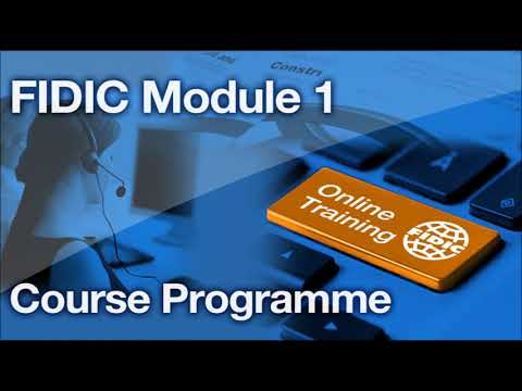 FIDIC Online Training Programme : Practical Use of the Red ...