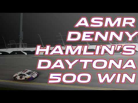 ASMR: Sounds from Denny Hamlin's Daytona 500 winning car