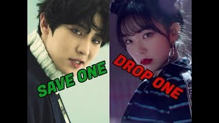 KPOP GAME: SAVE ONE, DROP ONE   SAME COMPANY EDITION