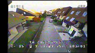 Alley Virgin FPV - Beginner Learning Acro FPV Drone Flying - EMAX Tinyhawk Freestyle - Lesson 02