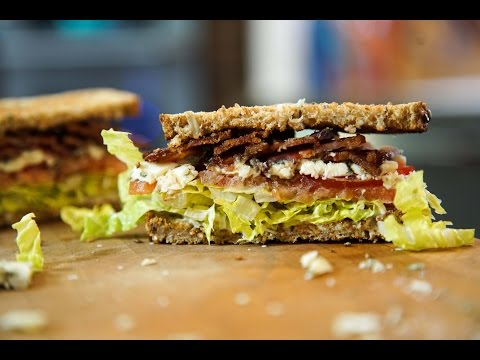 Blue Cheese BLT recipe by SAM THE COOKING GUY