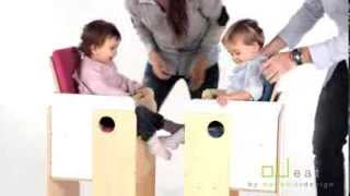 oUeat  highchair - for twins