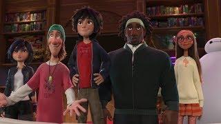 Freds Manor - Big Hero 6 Movie Scene