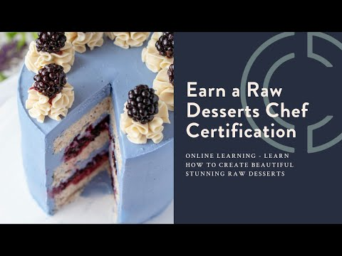 Online Raw Desserts Chef Certification Course - YouTube