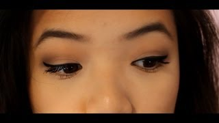 Cateye/Winged Eyeliner using a Felt-tip