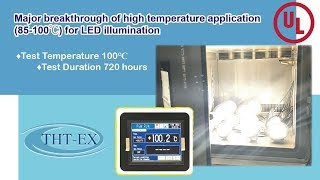 Major breakthrough of high temperature application (85-100℃) for LED illumination
