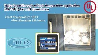 Major breakthrough of high temperature application (85-100℃) for LED illumination