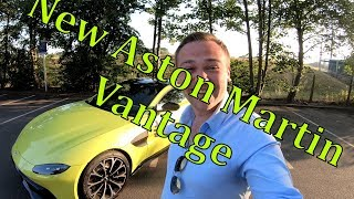 Brand New | Aston Martin Vantage 2018 | Review | Car Cafe 7th July