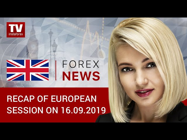 16.09.2019: Quotes reverse trend amid attacks on Saudi oil fields (EUR/USD, GOLD, GBP/USD)