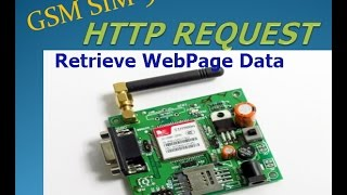 GSM with Arduino - HTTP GET REQUEST - Retrieve Data from Webpage