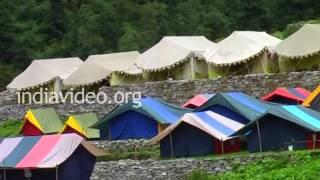 Tent - Restaurant in Govindghat, Uttarakhand