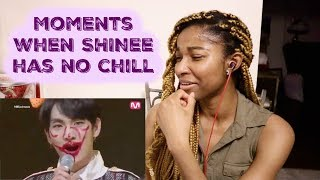 Gambar cover Moments when SHINee has no chill [SHINEE REACTION]