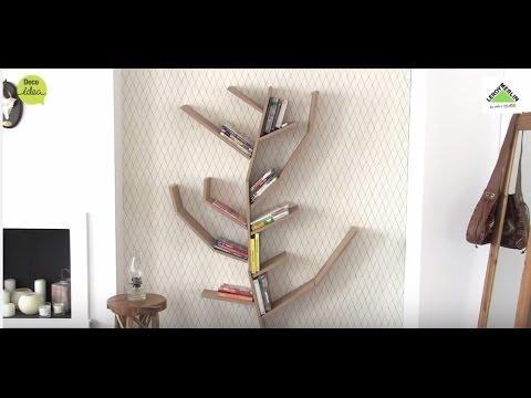 Estantería en forma de árbol (Leroy Merlin)