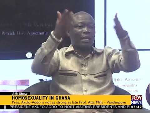 Video: I know people at the presidency who are homosexuals - Nii Lantey