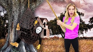 Rebecca Zamolo Finally Trapped the GAME MASTER in Real Life!  (Spy Gadgets and Mystery Clues Found)