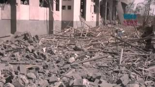 preview picture of video 'Coalition airstrikes against Houthis hit civilians in Sanaa'