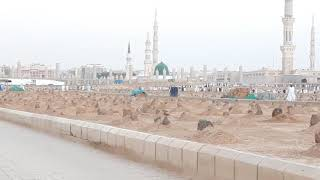 Hajj 2018 (1439) Medina Live Video Jannaṫ Al Baqī (جَـنَّـة الْـبَـقِـيْـع) Masjid Nabawi