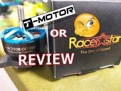 Racerstar AirA 2508 1200KV - REVIEW and THRUST TEST