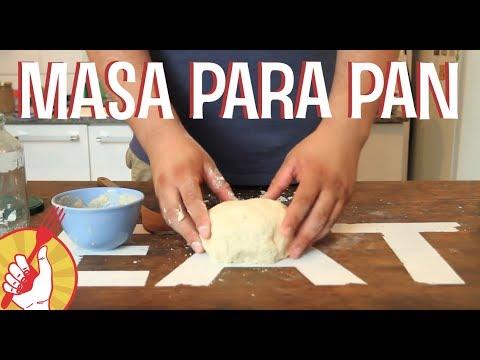 Masa para Pan | Receta Fácil | Tenedor Libre