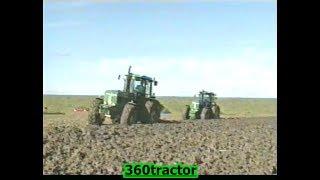 Ploegen En Zaaien Met Grote John Deere Tractoren Koninklijke Maatschap De Wilhelminapolder
