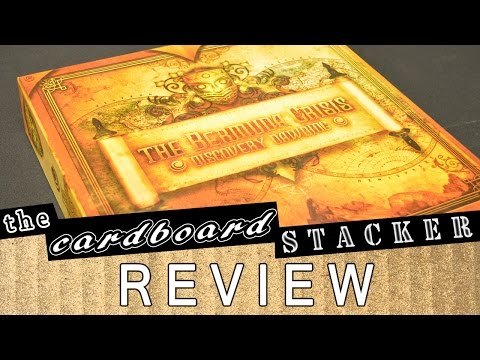 Review & Overview with The Cardboard Stacker - The Bermuda Crisis: Discovery Dawning