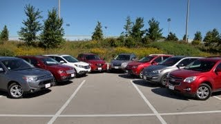 2013-2014 Compact Crossover Shootout: Mazda CX-5, Toyota RAV4, Honda CR-V And More