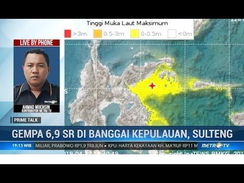 Gempa 6,9 SR, Warga Luwuk Mengungsi ke Tempat Tinggi