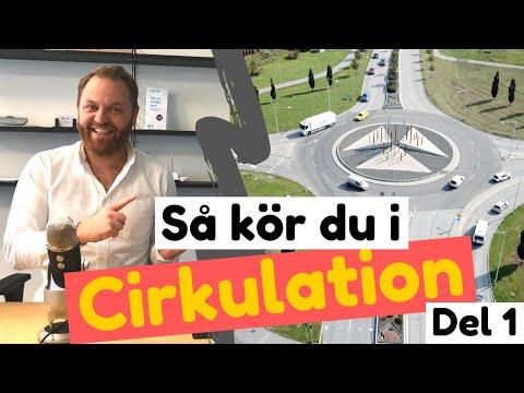 Så kör du i rondell / Cirkulationsplats - Del 1