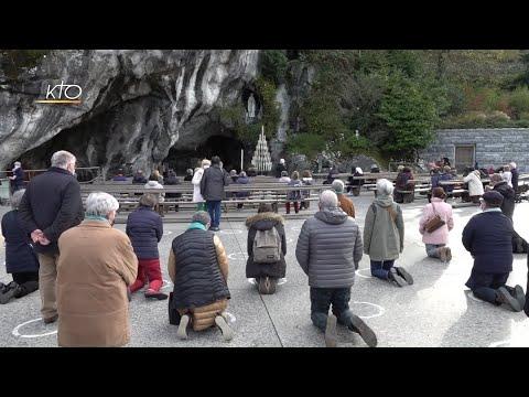 Les élus en pèlerinage à Lourdes