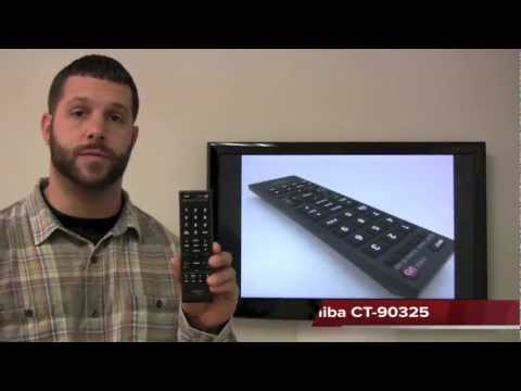 TOSHIBA CT90325 TV Remote Control