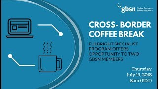 video - Cross-Border Coffee Break: Fulbright in Cambodia