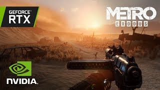 Metro Exodus: GeForce RTX Real-Time Ray Traced Global Illumination Demo #2
