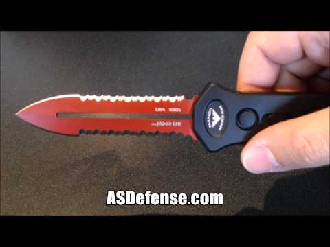 Paragon Devil's Tongue Out The Front Switchblade Knife